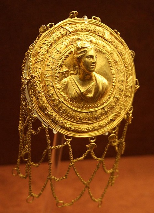 Сетка для волос III в. до н.э. Археологический музей Афин