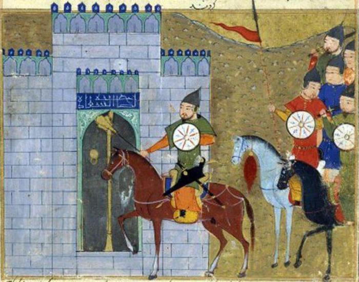 Осада монголами Чжунду.