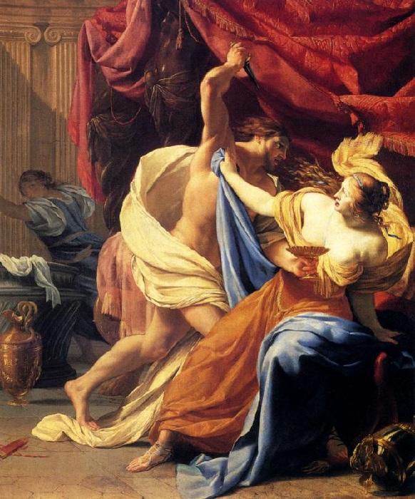 Тарквиний и Лукреция.(1629 год). Автор: Симон Вуэ.
